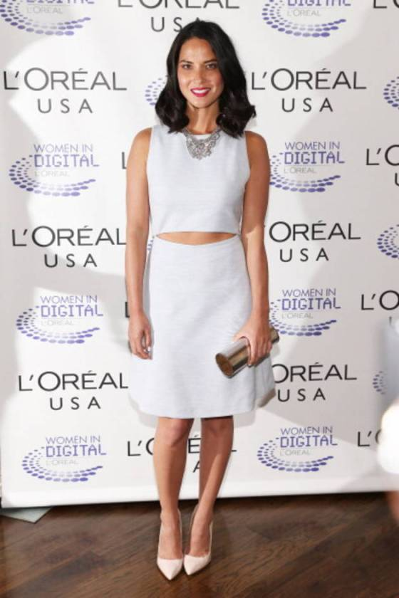 Olivia Munn in Thakoon Addition