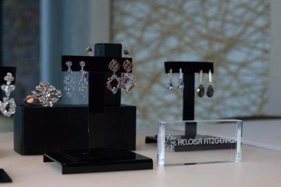 Heloisa Fitzgerald jewelry on display