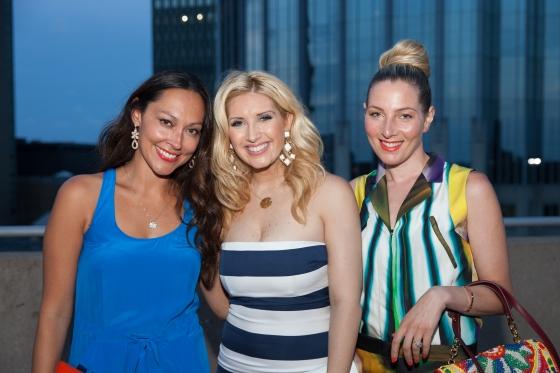 Jessica, Bianca de la Garza & me