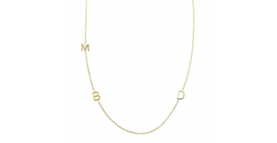 Maya-Brenner-asymmetrical-mini-letter-necklace-3