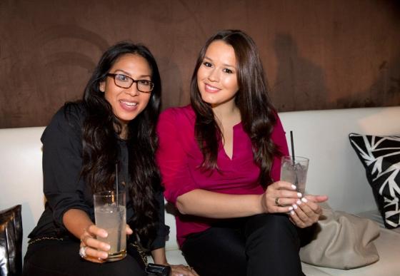 Kara Henson and Ester Fernandes