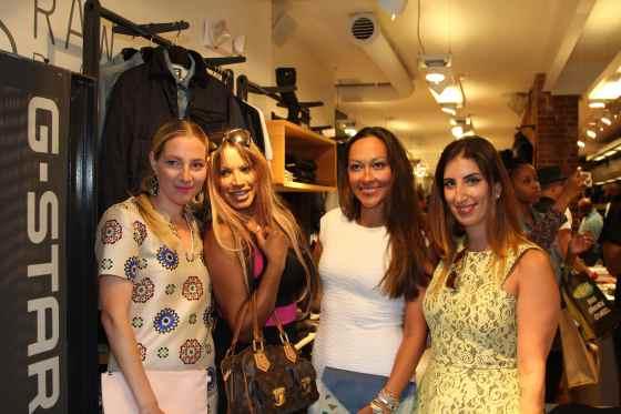 With Traci Bingham and blogger, Renata Certo-Ware of Scorpion Disco