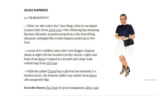 A Flair For Style in the Boston Globe.