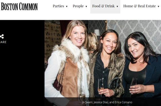 The launch of Champy Sparkling Wine by Jenny Johnson. Boston Common Magazine