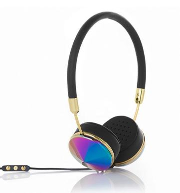 Oil Slick and Black Headphones from We Are Frends, $199