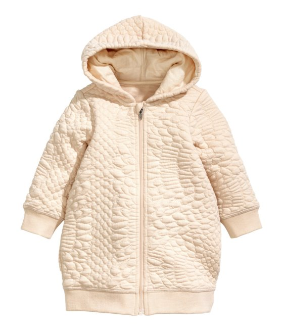 Textured Hooded Jacket