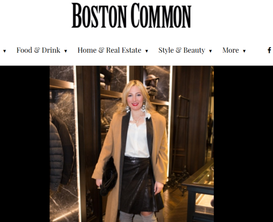 Boston Common Magazine, Moncler's Grand Opening