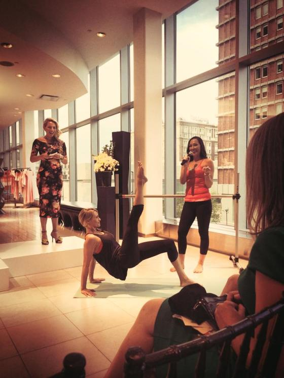 Fit Fashion Event at Saks Fifth Avenue