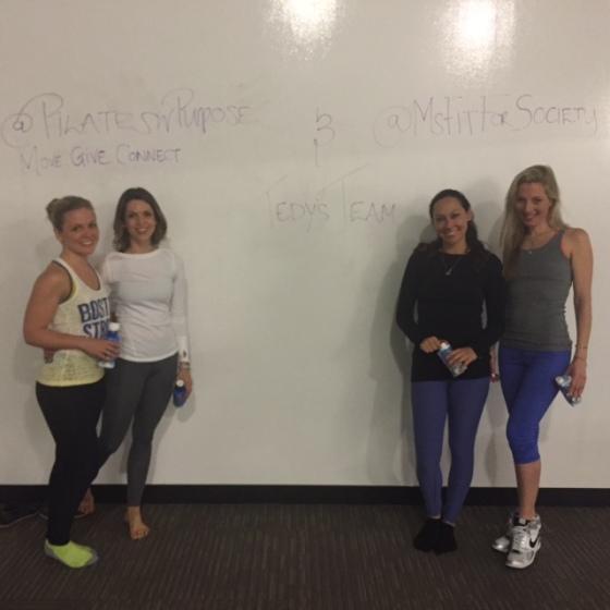 Thank you ladies for a fun, sweaty time!