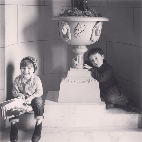 For their first trip to the museum, Ritts was the perfect exhibit to see!