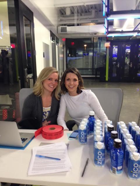 Pilates With Purpose Co-founders, Kristen Scanlon and Hanneke Antonelli.