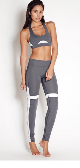 The Upside Yoga Pant in Charcoal