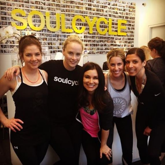 Gretta Luxe Team featured ride at Soul Cycle