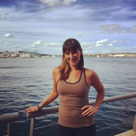 Caitlin Milbury, manager of Exhale Spa, Barre and Yoga Instructor