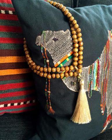 The Dendri Tassel Necklace.