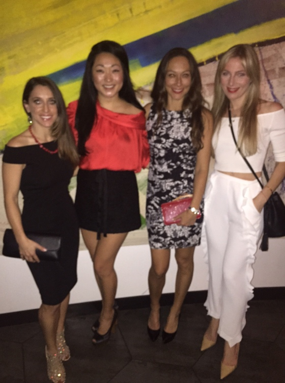 The gals of the Good Ones, Jennifer Brooke, Carolyn Kim and the Ms Fits