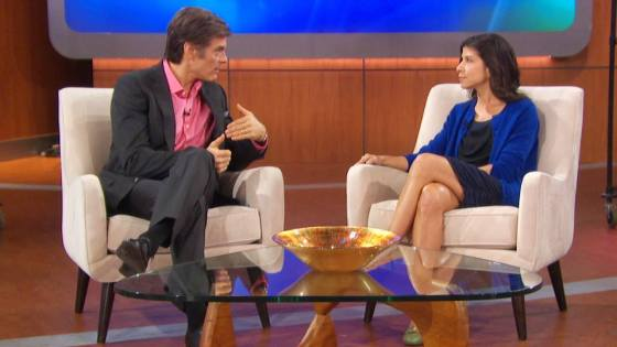 Lyn-Genet on the Dr. Oz shpw