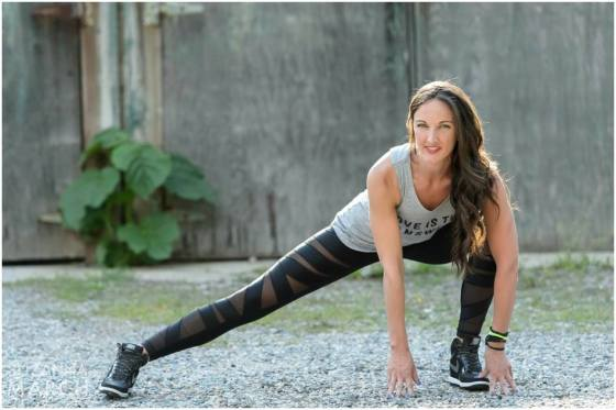 Boston Fitness Instructor, Heidi Anderson